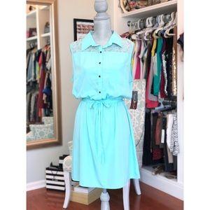 Dresses & Skirts - NWT mint colored dress!!